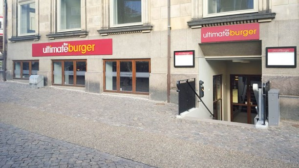 The Ultimate Burger Restaurangens front