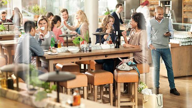Vapiano Amsterdam (Rembrandtplein) Het Restaurant