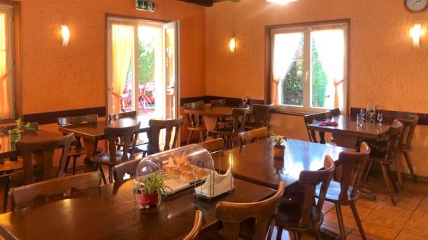 Restaurant du Lac Vernay Vue de la salle