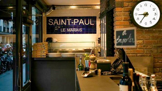 La Cerise Sur La Pizza Saint-Paul - Restaurant - Paris