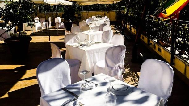 Blanco Cantina & Osteria Vista terrazza