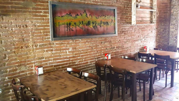La Kama Sala del restaurante