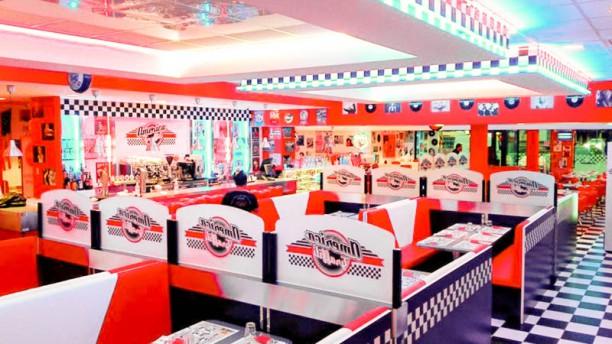 America Graffiti Diner Conegliano Veduta dell interno