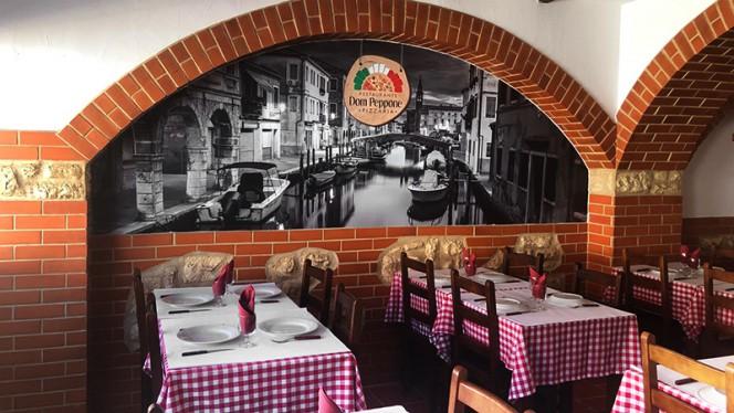 Dom Peppone ristorante italiano a Setúbal in Portogallo