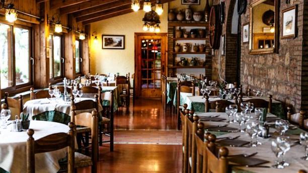 Villa Elda La sala con la veranda