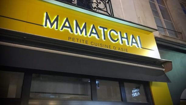 Mamatchai Enseigne