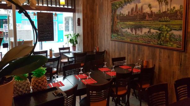Le Mékong Salle du restaurant