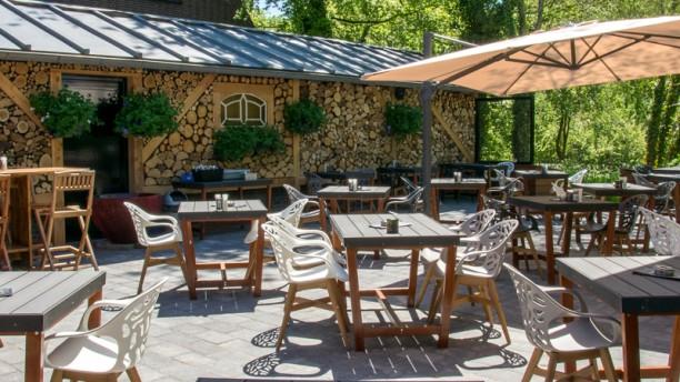 Restaurant Achteraf Prachtig terras met hele dag zon