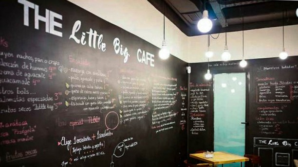 The Little Big Café Vista de sala