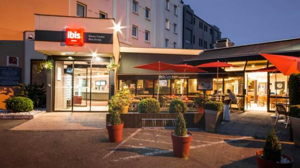 Ibis Kitchen Restaurant Rouen Entrée hôtel