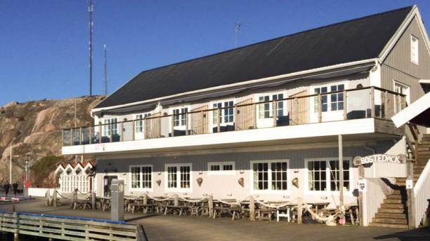 Grebys Fisk & Skaldjursrestaurang Restaurangens front