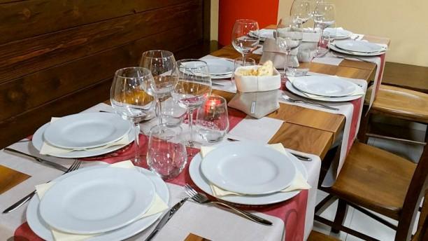 Millefoglie Particolare tavolo