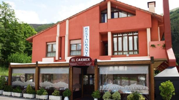 El Carmen Vista de la fachada