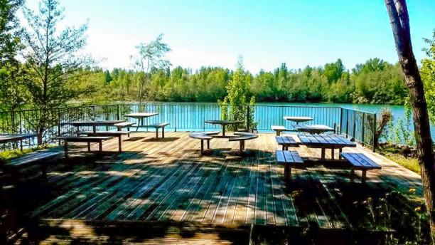 La Brasserie du Lac d'Espiet La terrasse