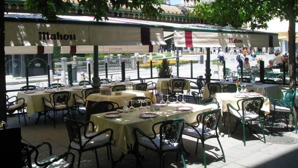 Café de Oriente Vista terraza