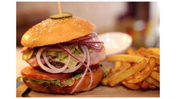 Hostellerie de La Belle Aurore burger