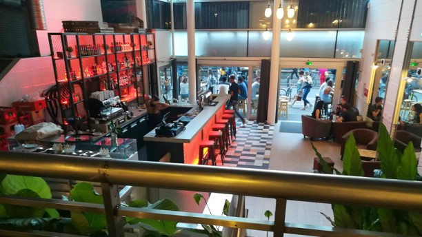 Upper Side Salle du restaurant
