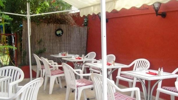 Le Café du Marché terrasse