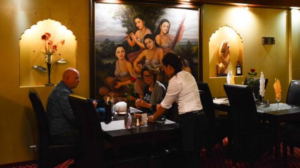 Himalaya Palace Restaurant detail van de tafel