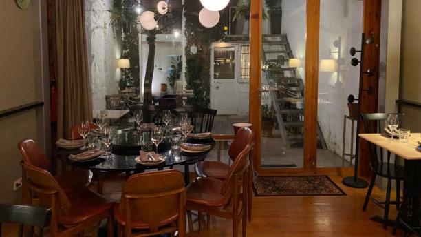 Casa Aberta Open Bar Food House Vista da sala