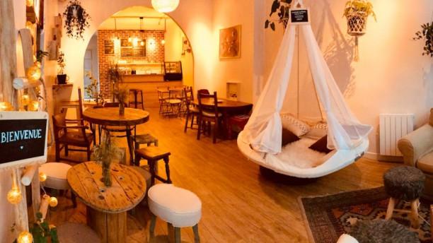 Café Bienvenue Salle du restaurant