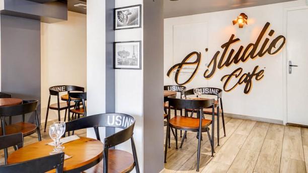 O'Studio Café Vue de l'intérieur