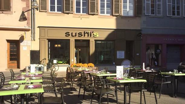 Sushi's Selestat terrasse