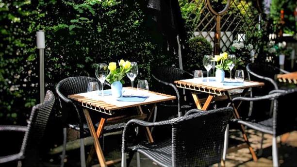 Zafferano Restaurant Terrasse