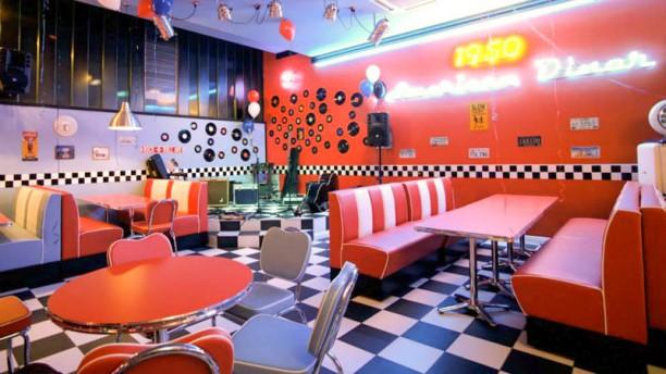 1950 American Diner - Poggibonsi Vista sala