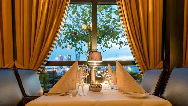 Grand-Café Restaurant Groeskamp Detail van de tafel