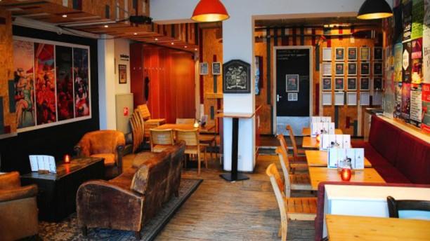 Cafe Kostverloren Het restaurant