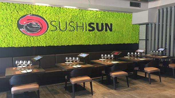 Sushi Sun Tiburtina Vista Sala