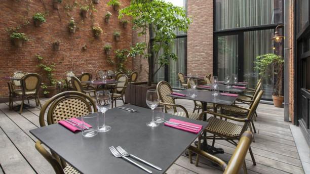 Le Berger Restaurant Terrasse