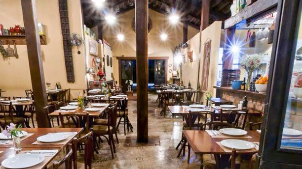 Pizzaria Campana Vista do interior