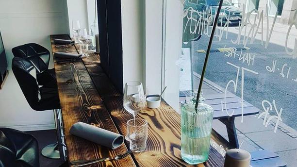 Restaurant Liva Barborde ved vindue