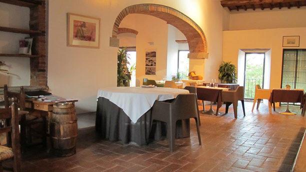 Il Celliere a Castagnoli Sala interna