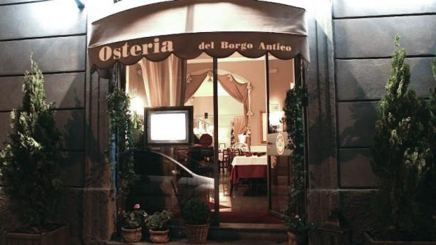 Osteria Del Borgo Antico La entrata