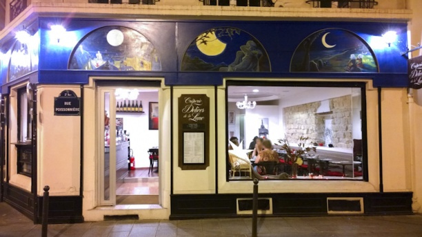 Restaurant d lices de la lune paris 2 me op ra for Miroir restaurant paris menu