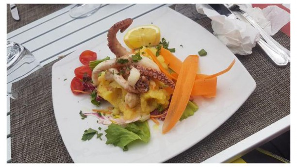 Il Lido Co.Al.Sa. Polpo e patate