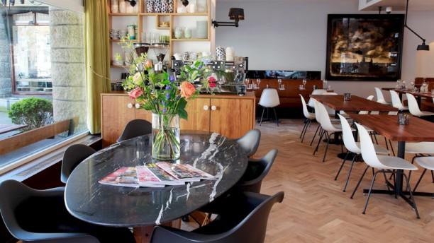 Bar & Kitchen The House Het restaurant