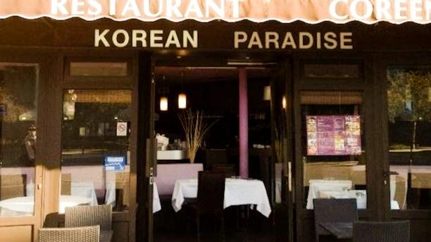 Korean Paradise Devanture
