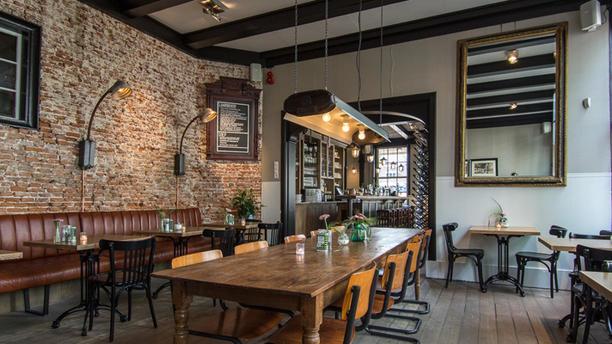 Café Restaurant de Eendracht Het restaurant