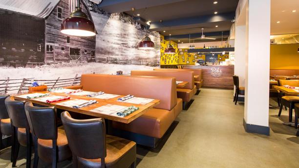 Ribsfactory Eindhoven Het restaurant