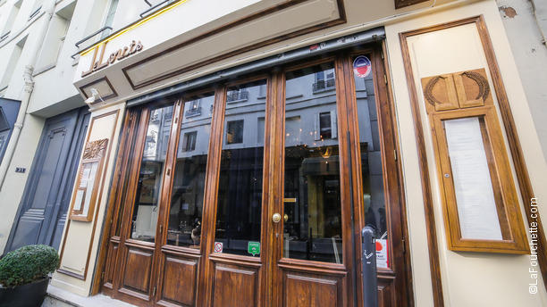 Le Louis Bienvenue au restaurant Le Louis, Paris 1er