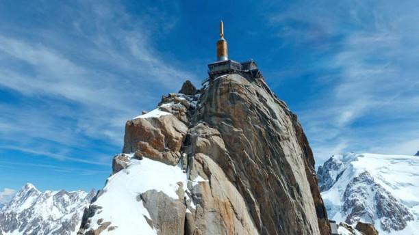 Le 3842 Sommet de l'Aiguille du Midi