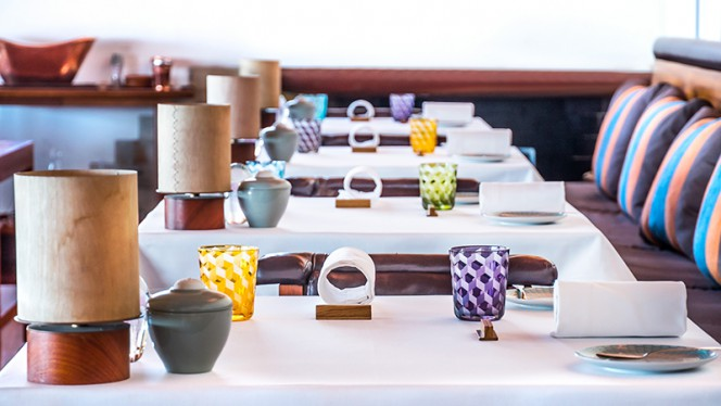 Detalhe de decoração - Casa de Chá da Boa Nova, Matosinhos