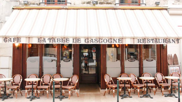 La Table de Gascogne devanture