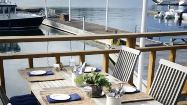 Plyms kök och bar Terrass