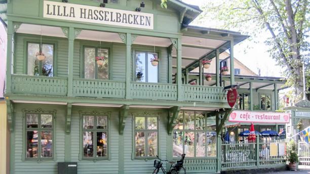 Lilla Hasselbacken Restaurant Café Wärdshus entre