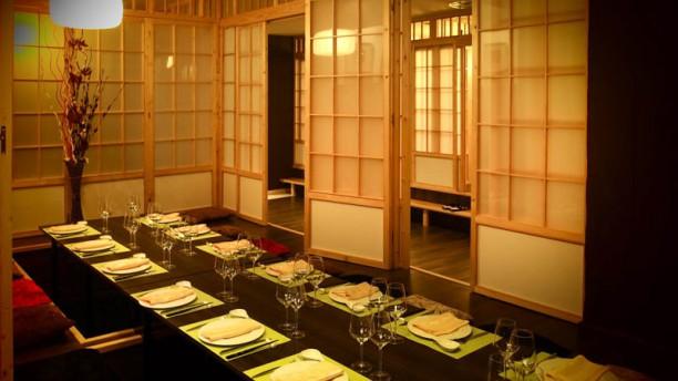Tatami Vista de la sala